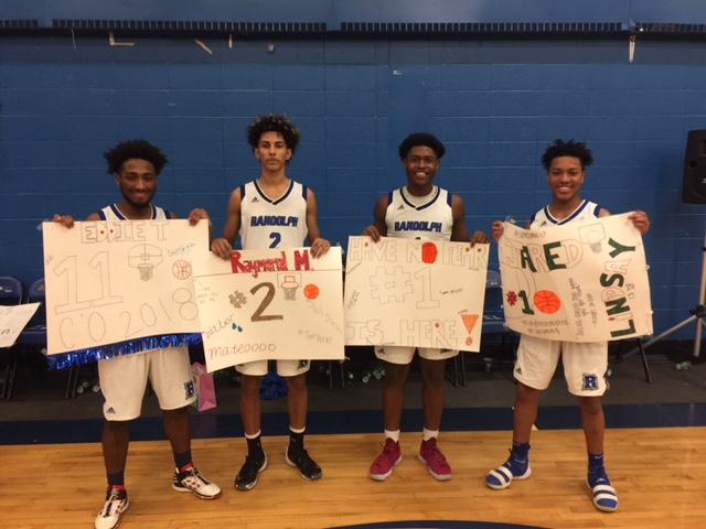 Congratulations to our Boys Basketball Seniors!