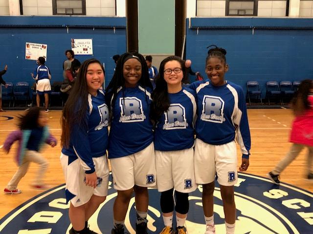 Huge win for our girls basketball team on senior night!