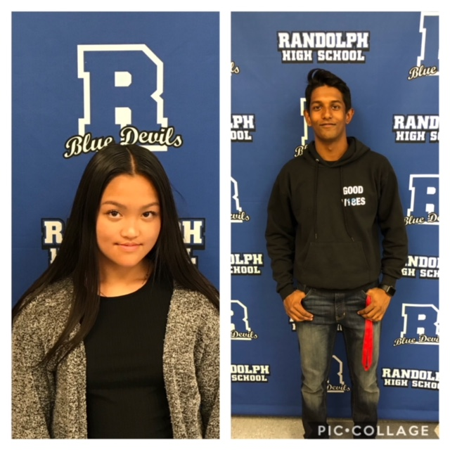 Congratulations to our Blue Devils of the week: Vivian Mac and Brandon Archbald