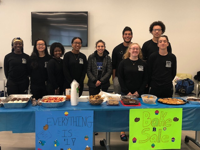 Student Athletic Advisory Committee hosted a great Bake Sale on 5/19 at Rec Center