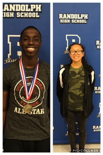 Congratulations to Blue Devils of the Week: Trisha Hua & Chibita Ihunwo