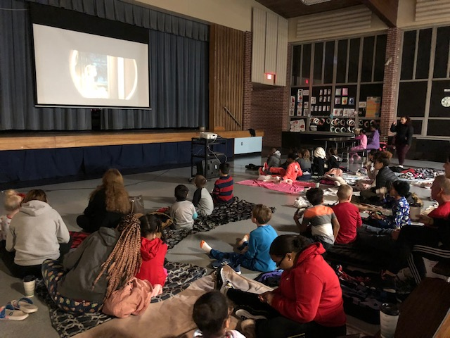 Polar Express Night at Young Elementary