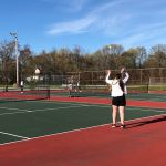Girls Varsity Tennis beats Carver 4-1!!