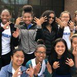 Girls Varsity Tennis beats Abington 3 – 2!!