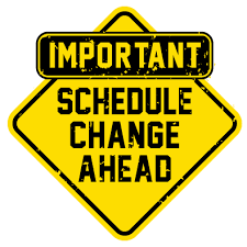 RHS Varsity Football Schedule change for 9/21/19