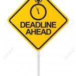 Deadline to Register for Fall Sports