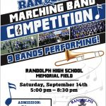 Randolph Marching Band Competition