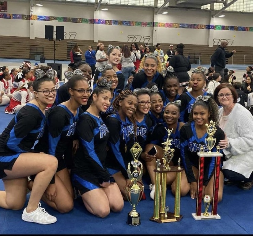 RHS Cheer Team Takes Home First Place!!