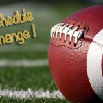 RHS Thanksgiving Day Football Game Schedule Change!!!!