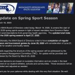 Important 2020 RHS Spring Sports Information