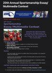 20th Annual Sportsmanship Essay Multimedia Contest