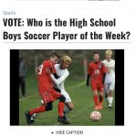 Vote for RHS own for High School Player of the Week