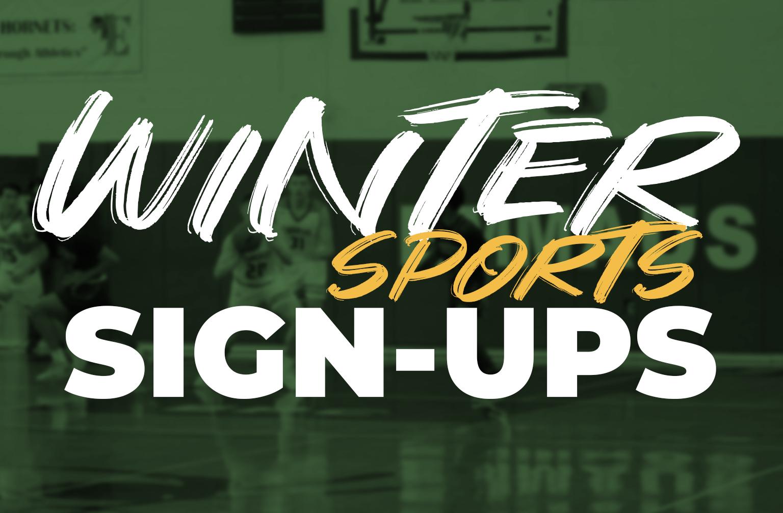 RHS Winter Sports Registration is Now Open!!!!!