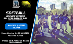 RHS 2021 Spring Softball Meeting- 3/30 @ 3:00pm