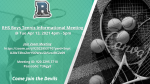 RHS Students:  Come Join our Tennis Informational Meeting!!!!!
