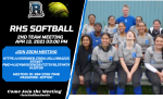 Join RHS Softball 2nd Meeting on 4/13 @ 3pm
