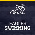 Eagles Swimming Logo