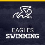 Eagles Swimming Logo