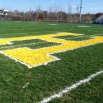 Hartland 'H' on Football Field