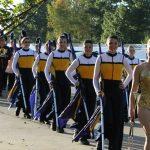 Hartland Color Guard shows initiative