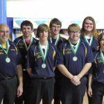 Varsity Boys Bowling Team takes Third at Pinconning Spartan Invitational