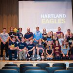 Hartland Athletics Celebrates HHS Athletes moving on to the College Level