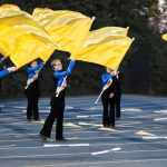 Color-guard performance
