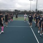 Hartland High School Boys Varsity Tennis falls to Brighton High School 7-2