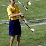 Flaming Baton Twirler