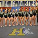 Headed to State Finals: Varsity Gymnastics