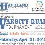 Inaugural Varsity Tennis Quad April 21, 2018