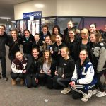 Figure Skating Team is States Bound, and honored seniors