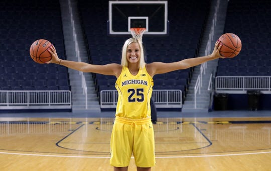 Hartland senior Whitney Sollom has committed to play basketball at the University of Michigan.