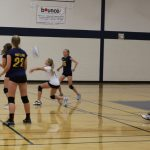 8th Grade Volleyball Team Sweeps Parker