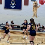 Girls 7th Grade Volleyball beats Scranton Black 3 – 0
