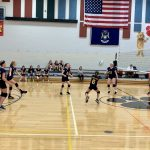 Girls 7th Grade Volleyball falls to Brighton's Scranton Orange 2 – 1