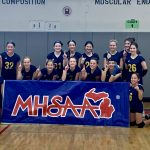 Hartland Sweeps Northville's Hillside in Final Match at the MHSAA's 2019 Kensington Lakes Activities Association Middle School Volleyball Tournament