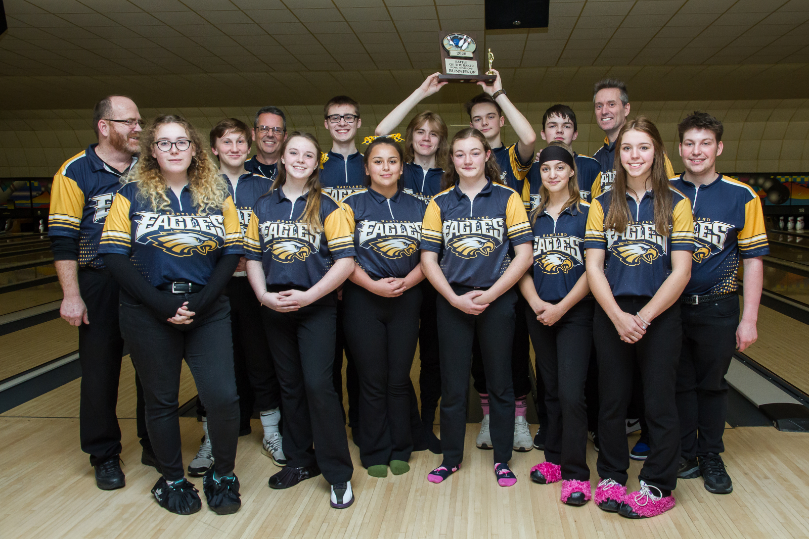 Hartland Bowlers Excel at Battle of the Bakers