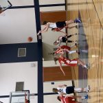 Girls 7th Grade Basketball beats Hillside Middle School (Northville) 34 – 23
