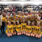 Varsity Competitive Cheer headed back to States!!