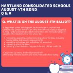 What is on the August 4th Ballot?