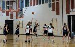 Hartland 8th Grade Girls Basketball Sweeps Brighton's Scranton Black