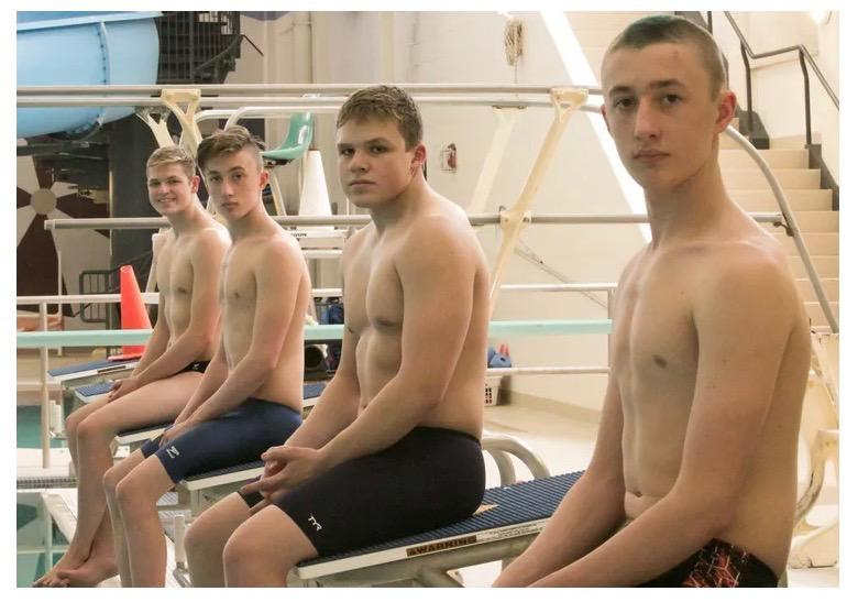 HHS Boys Swim Team Rocks the Pool at States