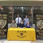 Jimmy Campbell will continue his football career at Trinity International