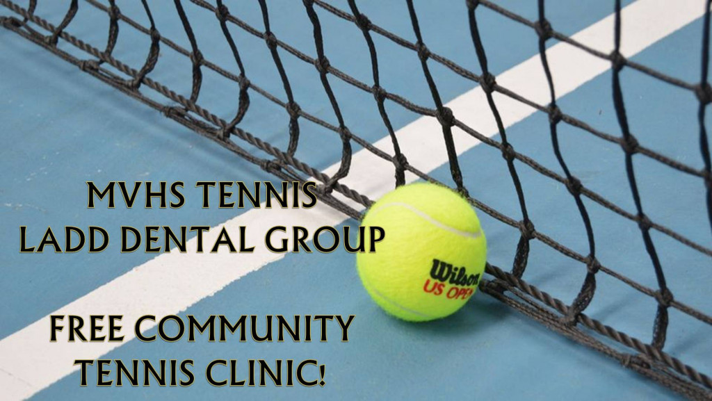 Free tennis clinic POSTPONED due to weather