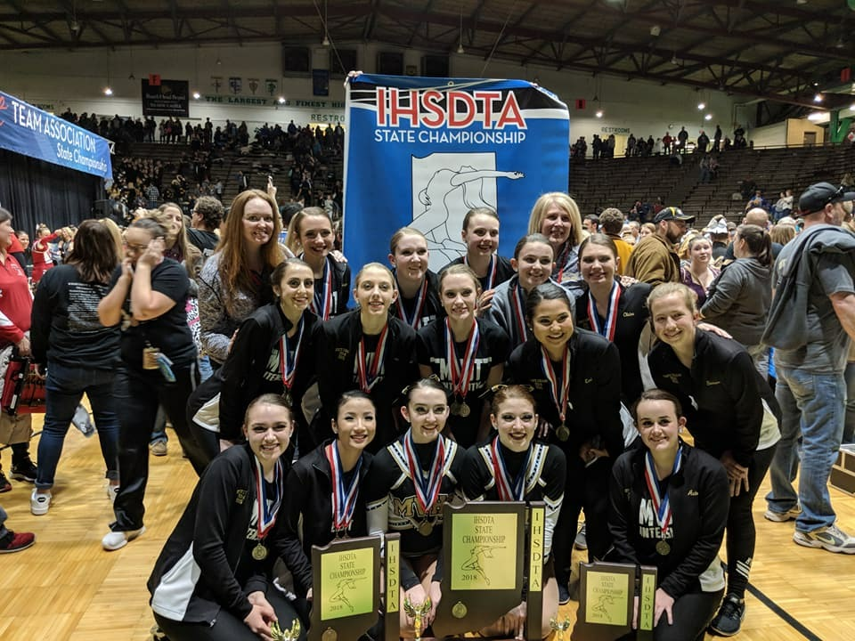 2018 AA Pom State Champs!