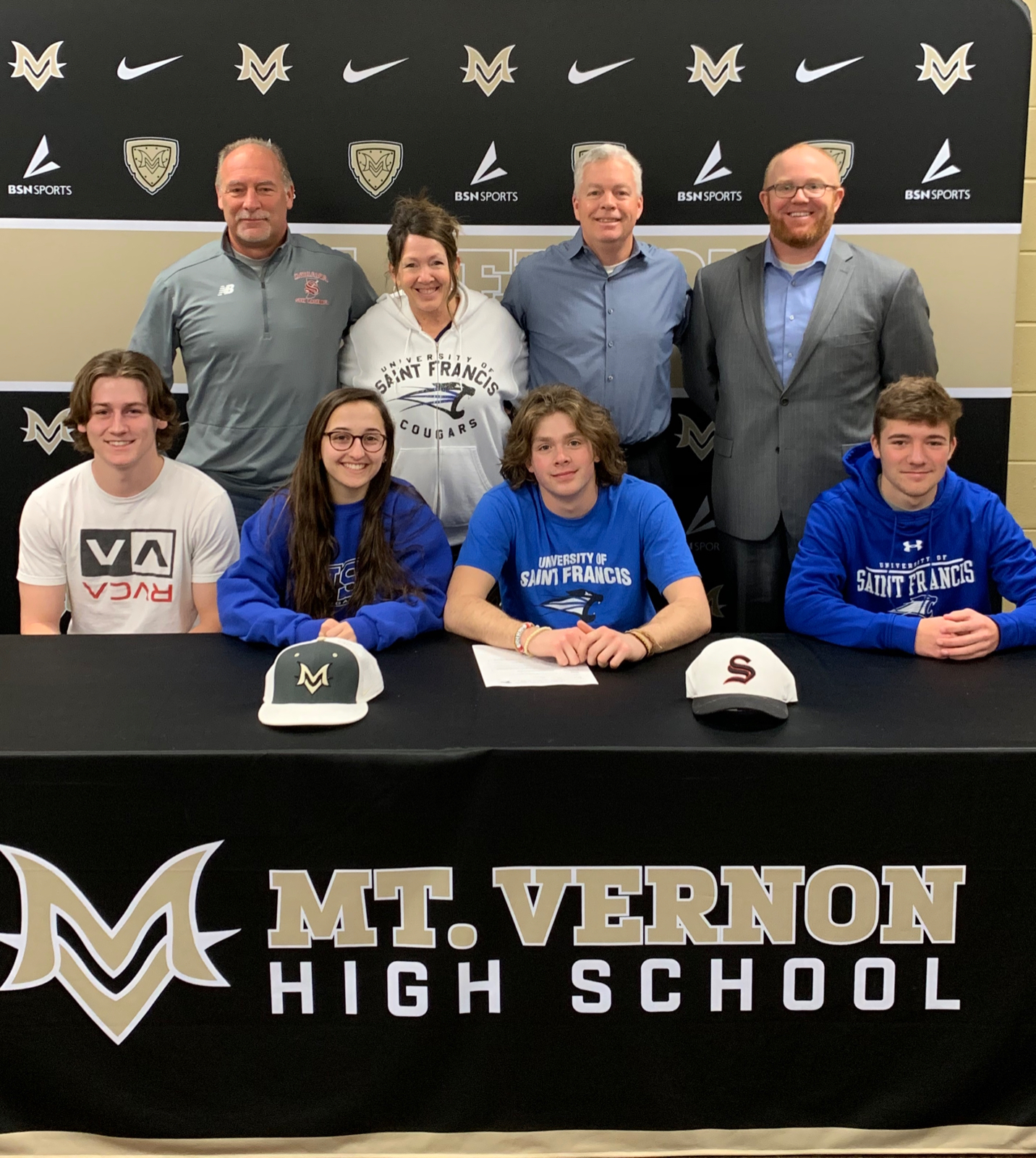 Sam McCarty Signs With Saint Francis