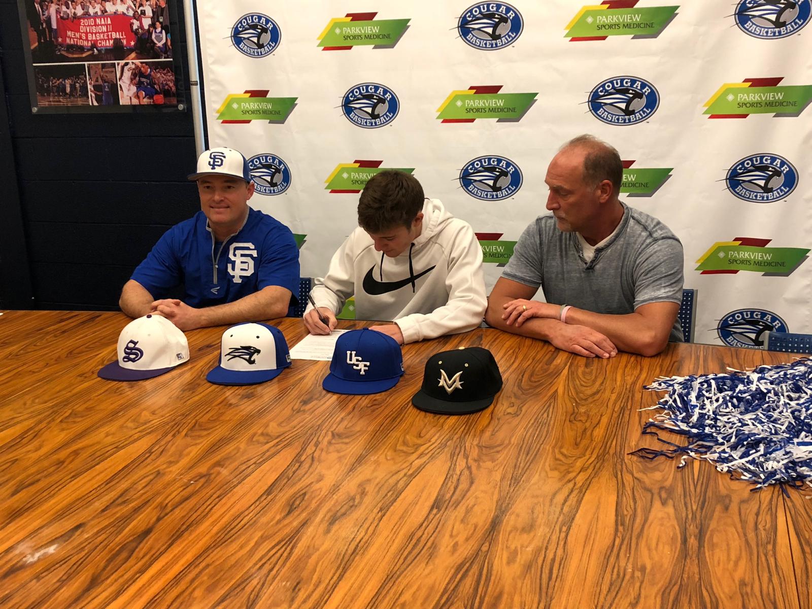 Bradley Turner to play baseball at Saint Francis