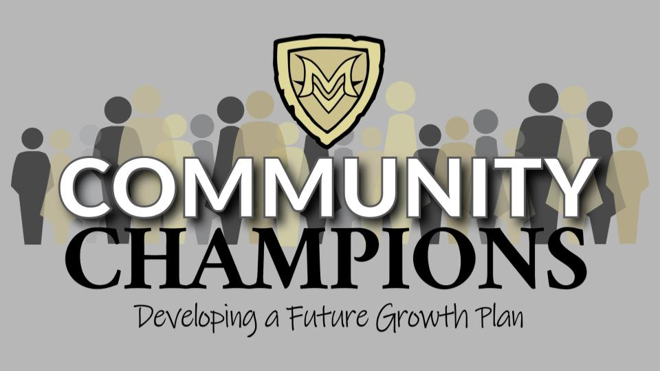 Community members asked to join  MV  Community Champions