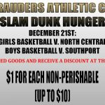 Slam Dunk Hunger on 12/21!